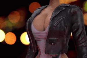 Amber Rose Bares Digital Breasts