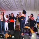 [Video] Demetria McKinney and Keri Hilson Sing 'Happy Birthday' at ATL Live on the Park
