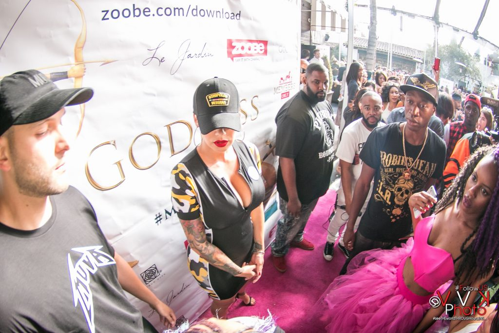 Amber Rose Zoobe Goddess LAunch