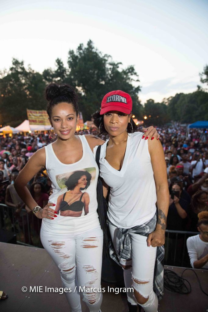 Erica Mena and Mimi Faust