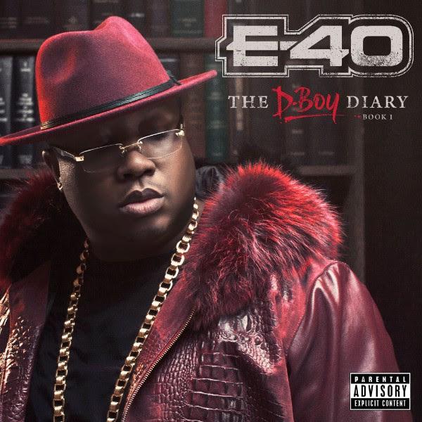 E-40 D-Boy Diary Book 1