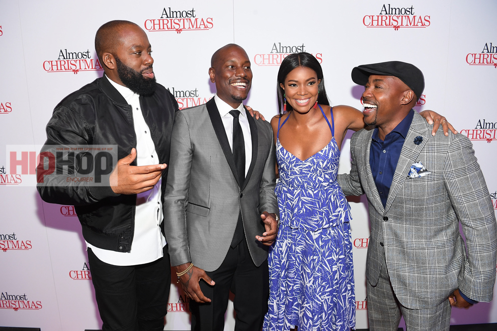 Cast From Almost Christmas.Almost Christmas Atlanta Red Carpet Screening With Cast And